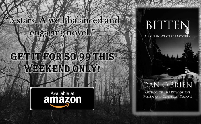 Bitten is only 99 cents this weekend!